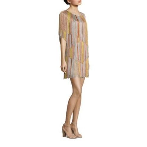 MISSONI Knit Fringe Dress