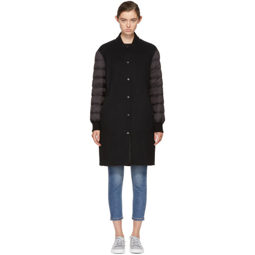 MACKAGE Reversible Black Marion Coat