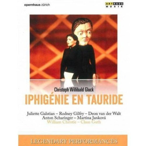 Legendary performances:Gluck iphigeni (DVD)