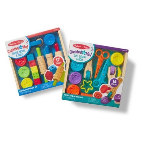 Melissa & Doug Clay Play Activity Set - With Sculpting Tools and 8 Tubs of Modeling