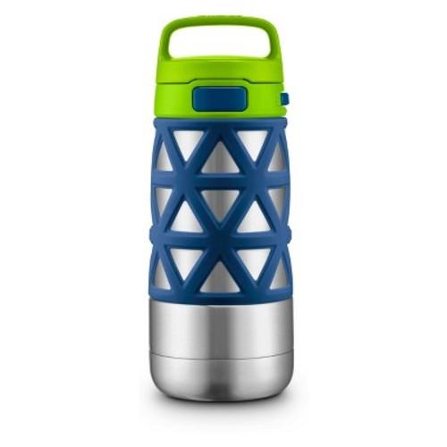 Ello Max 14oz Stainless Steel Water Bottle - Blue