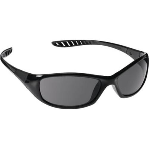 Jackson Safety V40 HellRaiser Safety Glasses, Black Frame, Clear AF Lens (28615)