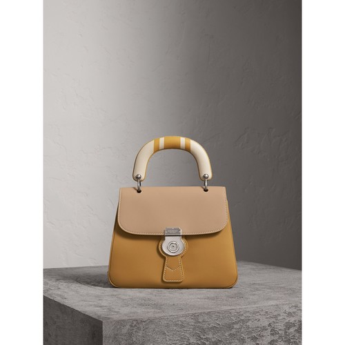 The Medium DK88 Top Handle Bag with Geometric Print