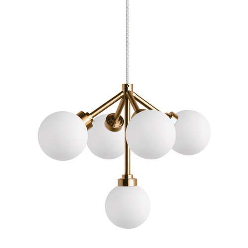 Mara Pendant Light [Lamp Type : 12 Volt LED; System : FreeJack; Finish : Aged Brass]