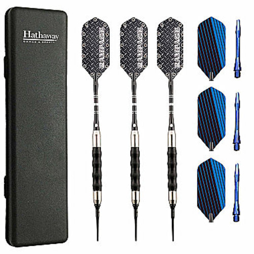 Hathaway Rampage Sure Grip Soft Tip Darts