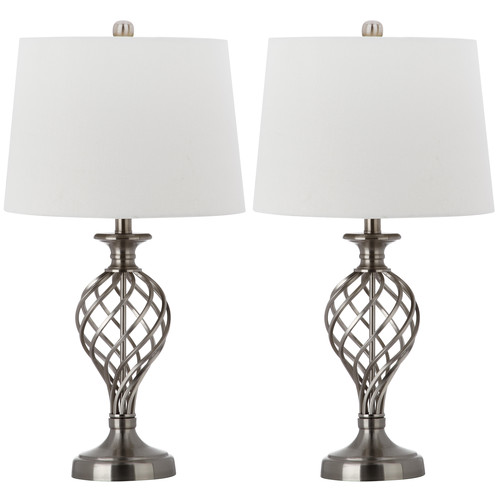 Safavieh Lattice Urn Table Lamp