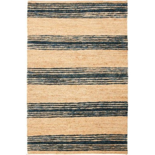 Safavieh Bohemian Natural/Blue 6 ft. x 9 ft. Area Rug