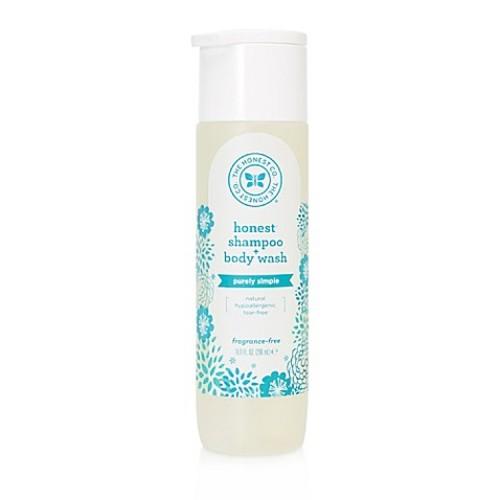 Honest 10 oz. Fragrance-Free Shampoo and Body Wash