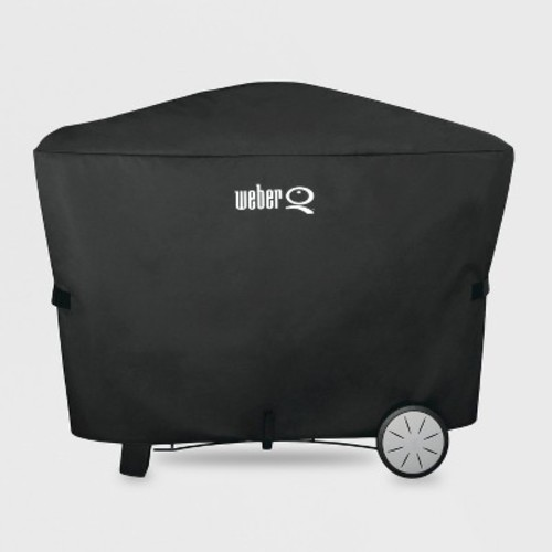 Weber Q 200/2000/300/3000 with Rolling Cart Gas Grill Cover