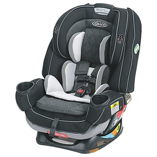 Graco 4Ever Extend2Fit Platinum All-in-One Convertible Car Seat in Shale