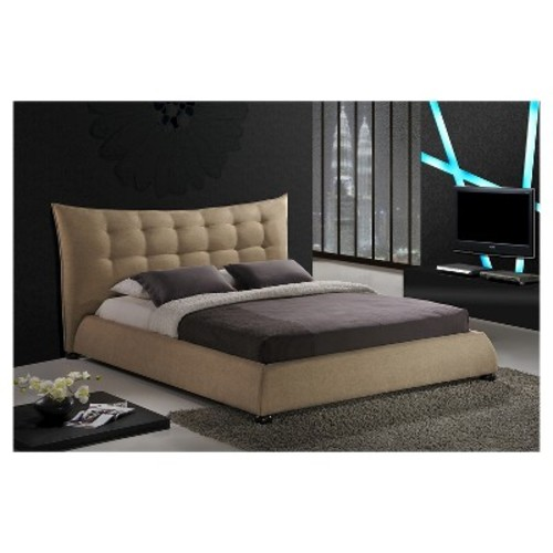 Marguerite Platform Bed - Baxton Studio