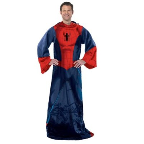 Marvel Spiderman Spider Up Adult Comfy Throw by The Northwest Company