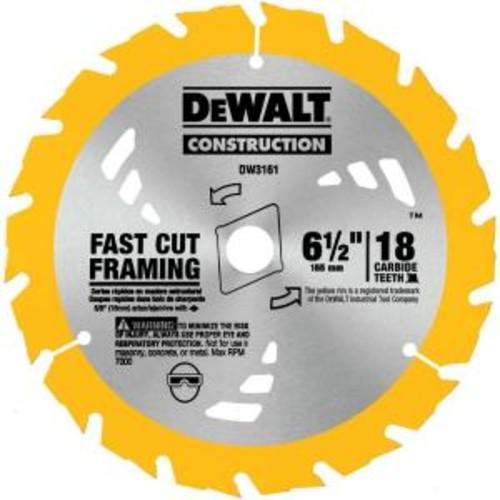 DEWALT Construction 6-1/2 in. 18-Teeth Thin Kerf Saw Blade