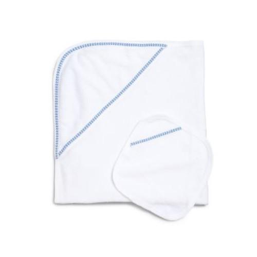 Infant's Two-Piece Cotton Terry Towel & Wash Cloth Set