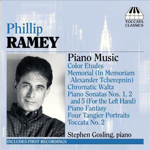 Phillip Ramey: Piano Music [CD]