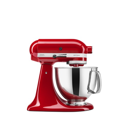 5 Quart Artisan Stand Mixer - Empire Red