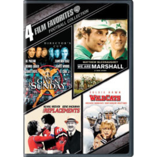 Football Collection: 4 Film Favorites [4 Discs]
