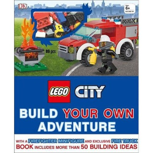 Lego City Build Your Own Adventure (Hardcover)