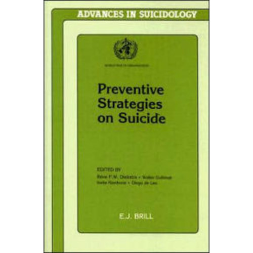Preventive Strategies on Suicide