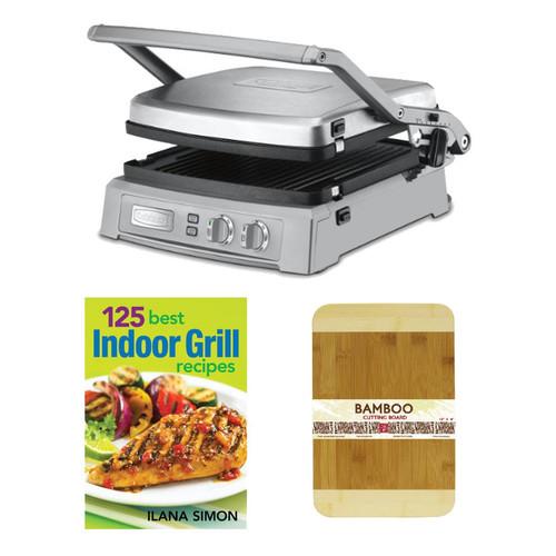 Cuisinart GR-150 Griddler Deluxe - Brushed Stainless