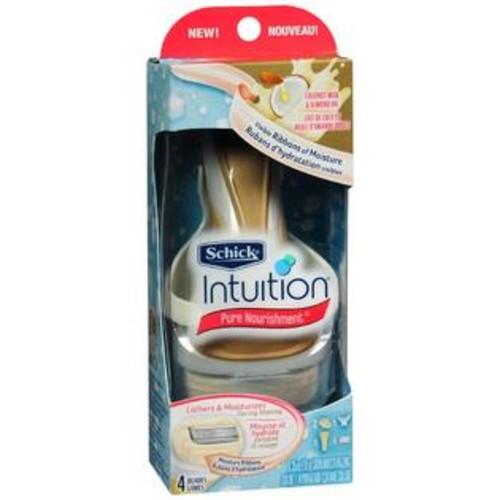Schick Intuition Pure Nourishment Razor System Coconut Milk & Almond Oil