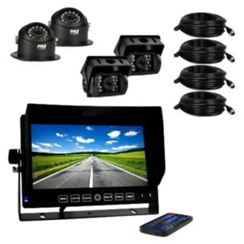 Pyle HD Multi-Camera DVR Video Recording Driving System, Black (PLCMTRDVR46)