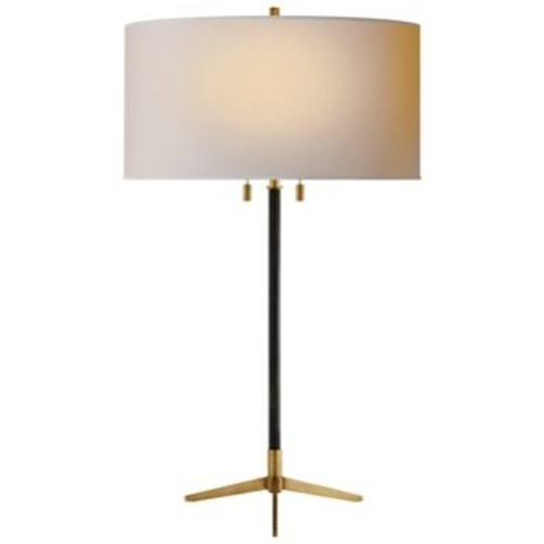 Caron Table Lamp [Finish : Bronze/Hand-Rubbed Antique Brass]