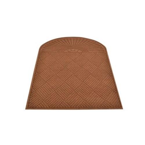 HomeTrax Designs 169E0036 Guzzler Sunburst Door Mat