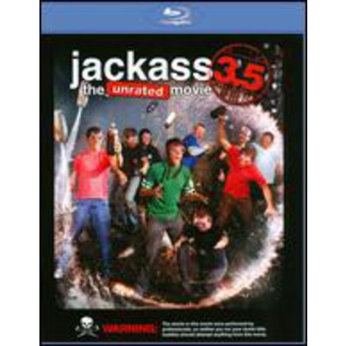 Jackass 3.5: The Unrated Movie (Blu-ray)