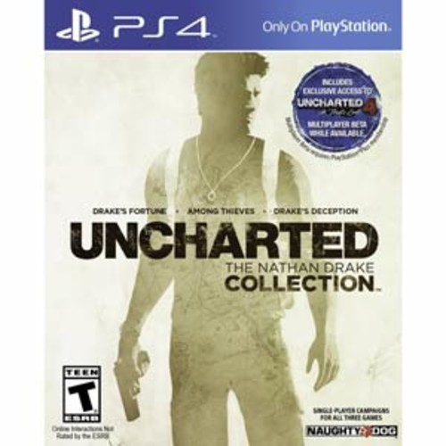 Uncharted Collection: The Nathan Drake Collection - PlayStation 4