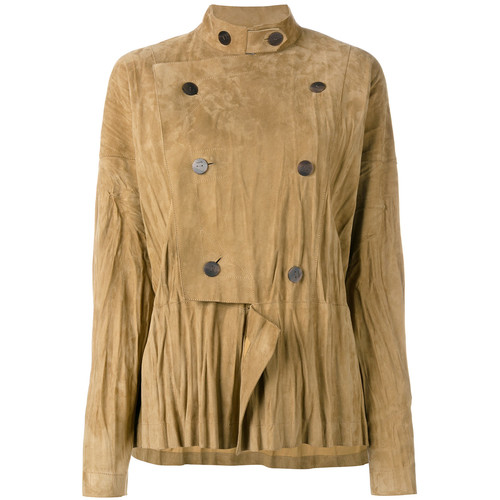 LOEWE Military Style Draped Jacket