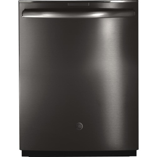 GE Profile Top Control Dishwasher in Black Stainless Steel with Stainless Steel Tub, Fingerprint Resistant