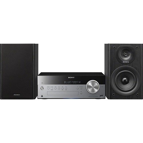 Sony CMT-SBT100 Micro system - Black, silver