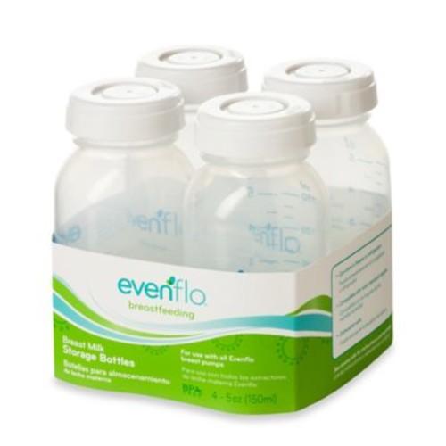 Evenflo Feeding 4-Count 5 fl. oz. Milk Storage Bottles