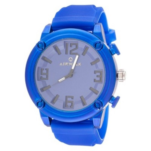 Airwalk Rubber Strap Analog Watch - Blue