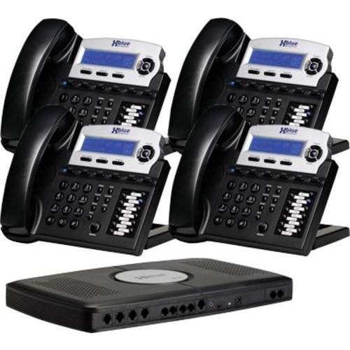 XBlue X16 Small Office Telephone System, 4pk