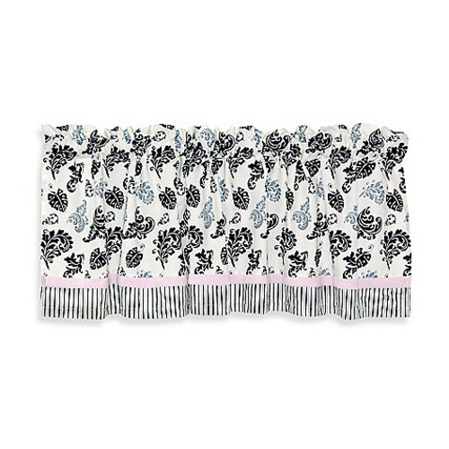 Country Home Laugh, Giggle & Smile Versailles Valance