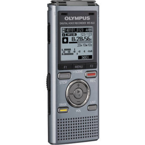 4GB WS-822 Digital Voice Recorder (Gunmetal)