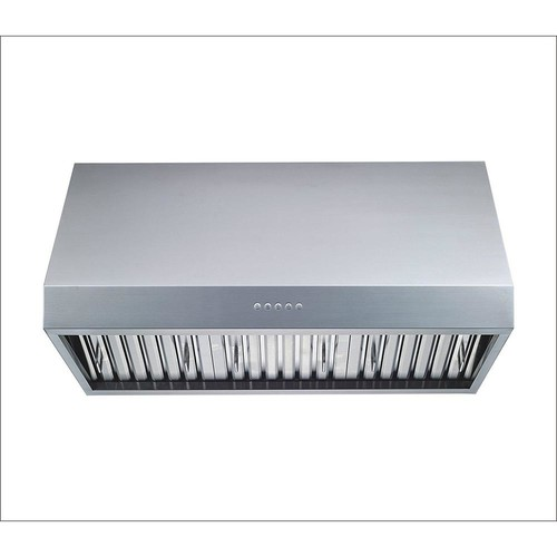 Winflo 30 in. 1000 CFM Professional Grade Ducted Stainless Steel Under Cabinet Range Hood with LED Lights and Baffle Filters