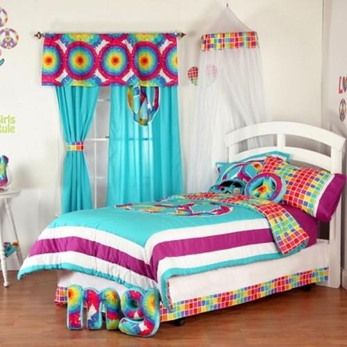 One Grace Place Terrific Tie Dye Sheet Set