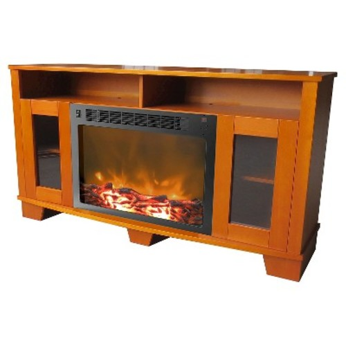 Cambridge - Savona Electric Fireplace for Most Flat-Panel TVs Up to 60