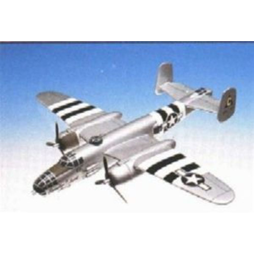 Daron Worldwide Trading A1148 B-25J Mitchell Silver 1/48 Scale AIRCRAFT