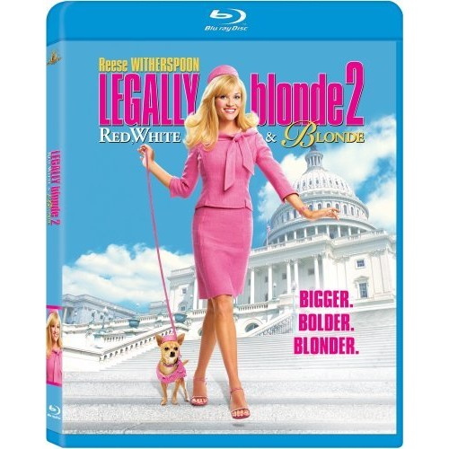 Legally Blonde 2: Red, White & Blonde [Blu-ray]: Bruce McGill, Regina King, Sally Field, Jennifer Coolidge, Reese Witherspoon, Jessica Cauffiel, Tanja Reichert, The Duchess, Ashley Chapman, Beans, Bob Newhart, Duchess, Holly, Jackie Hoffman, Karen Gordon, Sam, Amir Talai, Amy Schlagel, Andrew Casey, Anthony
