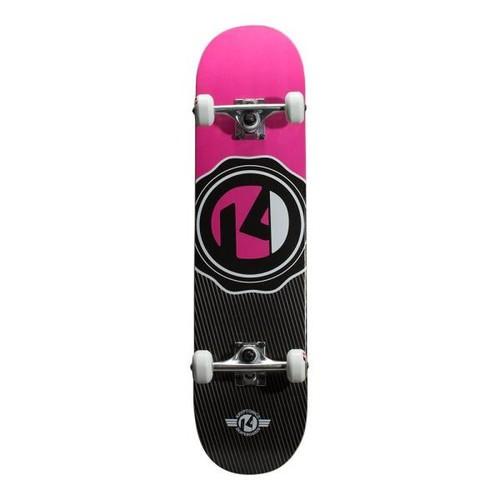 Kryptonics 31 in. Sealed Pink Drop-In Complete Skateboard