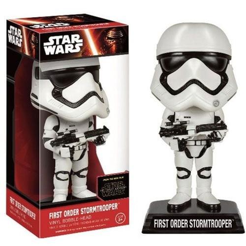 Funko Star Wars The Force Awakens First Order Stormtrooper Wacky Wobbler