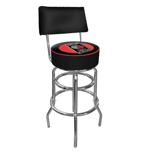 Trademark Games Portland Trail Blazers Padded Swivel Bar Stool with Back