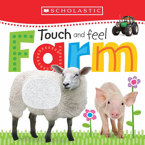 Scholastic Early Learners Book - Touch and Feel Baby Animals