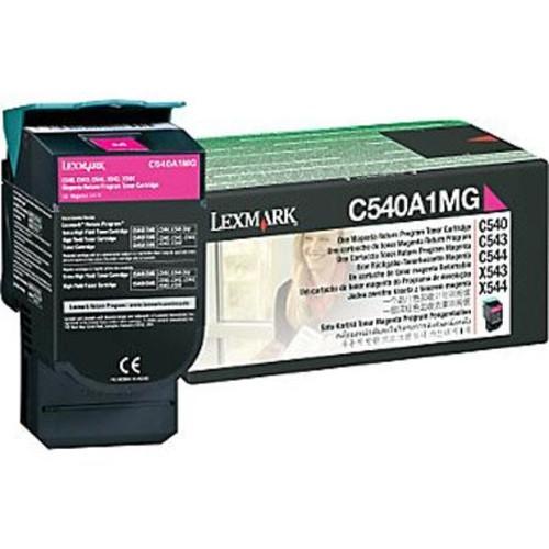 Lexmark C540A1MG Standard Magenta Toner Cartridge C540A1MG