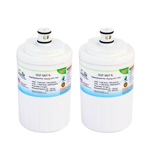 Swift Green Filters Maytag UKF-7003 Replacement Refrigerator Water Filter (2-Pack)