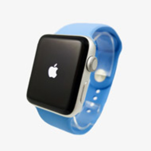 Apple Watch Series 3 38mm Aluminum Frame - GPS Only (Silver with Blue) [Pre-Owned]